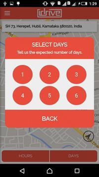 iDrive service booking app screenshot 3