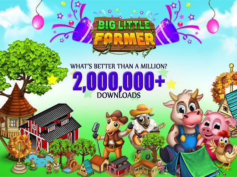 Big Little Farmer Offline Farm poster