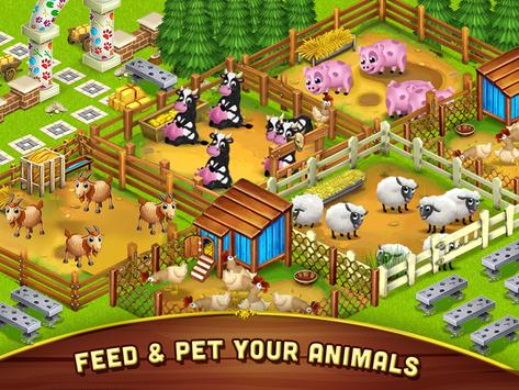 Big Little Farmer Offline Farm apk screenshot