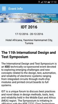 IDT 2016 screenshot 4
