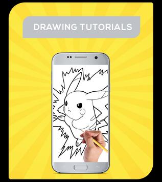How To Draw Pokemon Characters poster