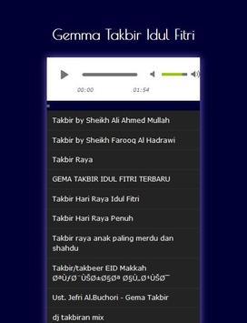 Gemma Takbir Idul Fitri MP3 screenshot 1