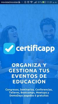 Certificapp poster