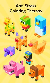 3D Pixel Coloring By Number - Creative Art Games poster