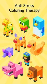 3D Pixel Coloring By Number - Creative Art Games screenshot 10