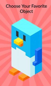 3D Pixel Coloring By Number - Creative Art Games screenshot 2