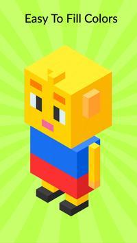 3D Pixel Coloring By Number - Creative Art Games screenshot 8