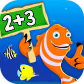 Math Games For Kids - Add, Count & Learn Numbers icon