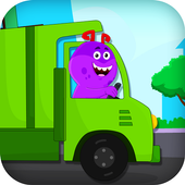 Garbage Truck Games for Kids - Free and Offline icon
