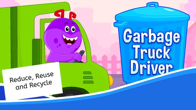 Garbage Truck Games for Kids - Free and Offline screenshot 10