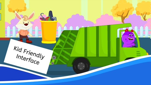 Garbage Truck Games for Kids - Free and Offline screenshot 12