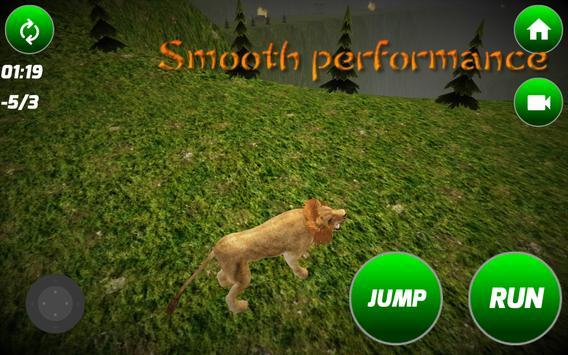 King of Lion Simulator apk screenshot