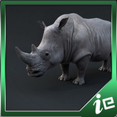 Big Rhino Simulator icon