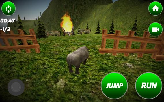 Big Rhino Simulator apk screenshot