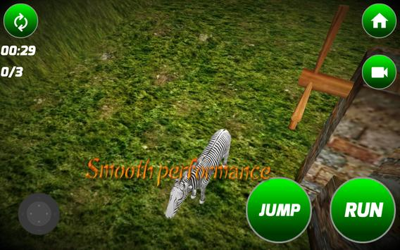 Angry Zebra Simulator apk screenshot