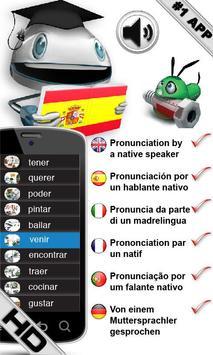 Free Spanish Verbs poster