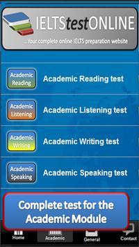 Complete IELTS practice tests screenshot 1