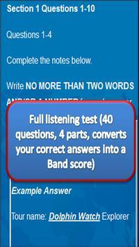Complete IELTS practice tests screenshot 4