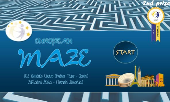 European Maze poster