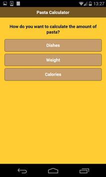 Pasta Calculator screenshot 1