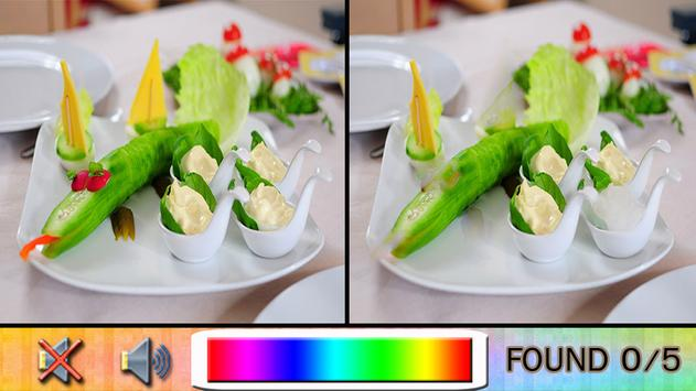 Find Difference Food screenshot 1