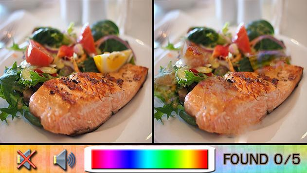 Find Difference Food screenshot 2