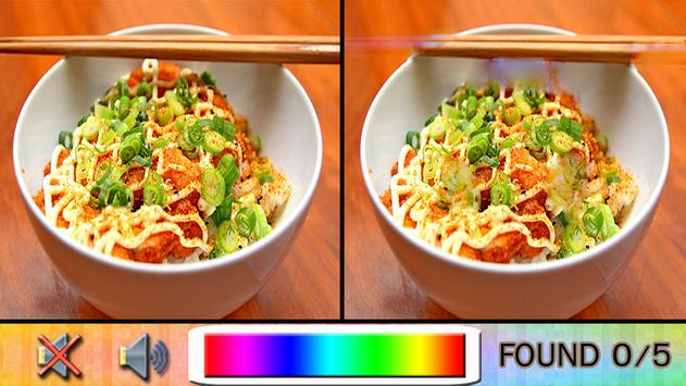 Find Difference Food screenshot 3