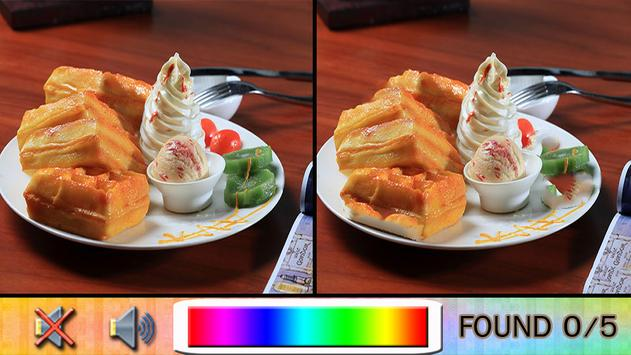 Find Difference ice cream screenshot 2