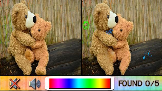 Find Difference bear apk screenshot