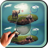 Find Difference elephant icon