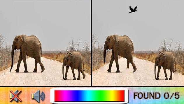 Find Difference elephant apk screenshot