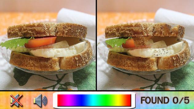 Find Difference breakfast apk screenshot