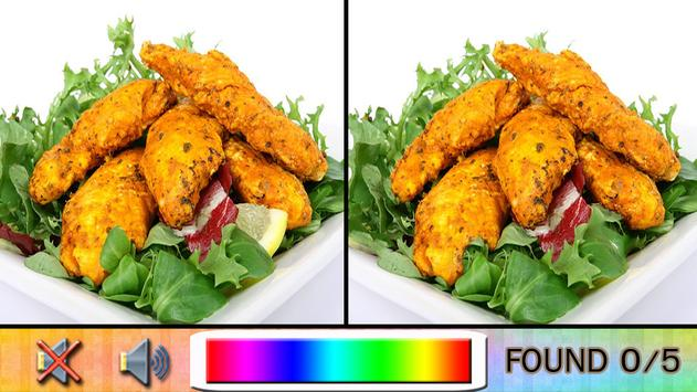Find Difference dinner apk screenshot