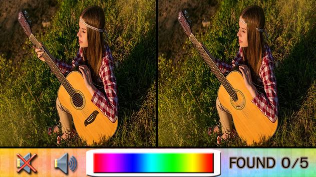 Find Difference guitar apk screenshot