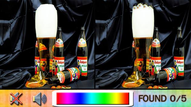Find Difference beverage poster