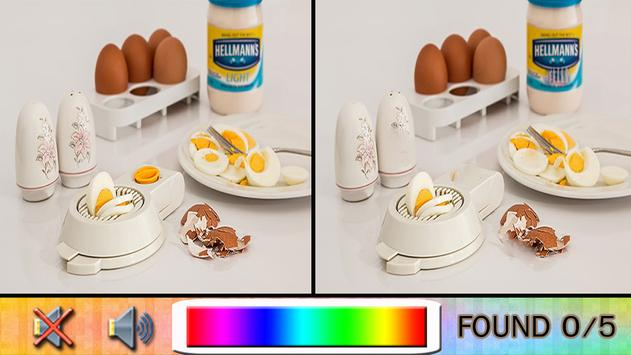 Find Difference breakfasts apk screenshot