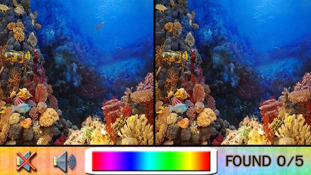 Find Difference under the sea apk screenshot