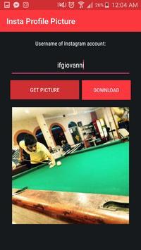 Insta Profile Pict Zoom & Download apk screenshot
