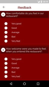 ifeedback - Hotel Feedback App apk screenshot