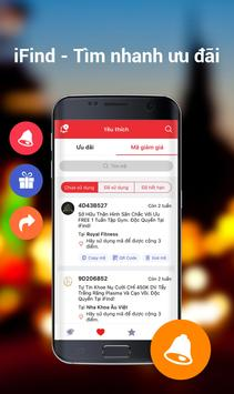 iFind Khuyến mãi Giảm giá Deal apk screenshot