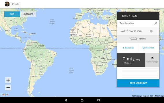 iFit Bluetooth Tablet App apk screenshot