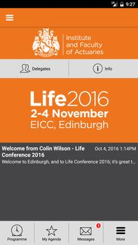 IFoA Life Conference 2016 poster