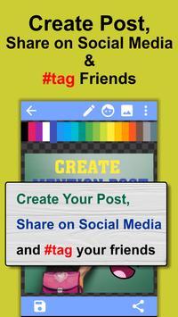 Create Mention Post For Social Media screenshot 2