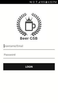 Bière GSB poster