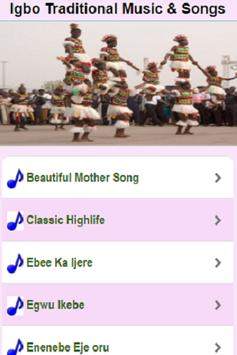 Igbo Traditional Songs & Music poster