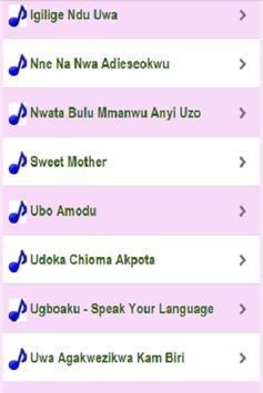 Igbo Traditional Songs & Music apk screenshot