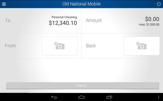 Old National Bank apk screenshot