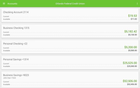 Orlando Federal Credit Union screenshot 4