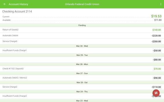 Orlando Federal Credit Union screenshot 8