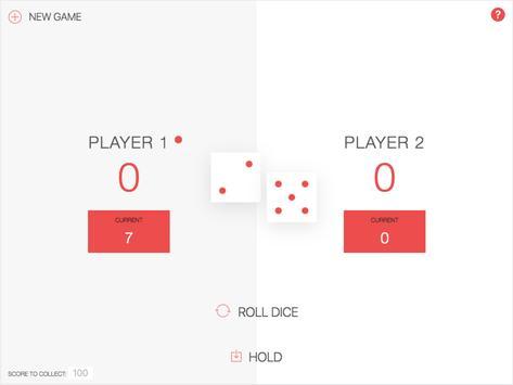 Pig Dice Game apk screenshot